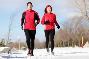 зима, спорт, люди