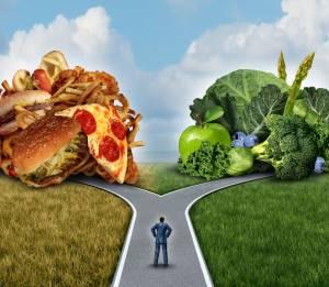 Выбор питания, фаст фуд